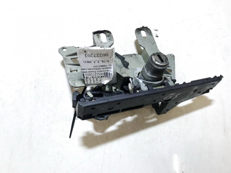 Volkswagen  Passat Galinio dangcio atidarymo rankenele isorine  (mikrikas)