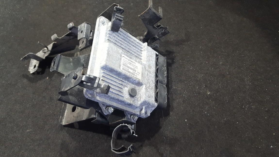Блок управления двигателем 51805371 6l-vr952l ,   MJD6F3.D4 , 71600.200.00 Fiat DOBLO 2007 1.3