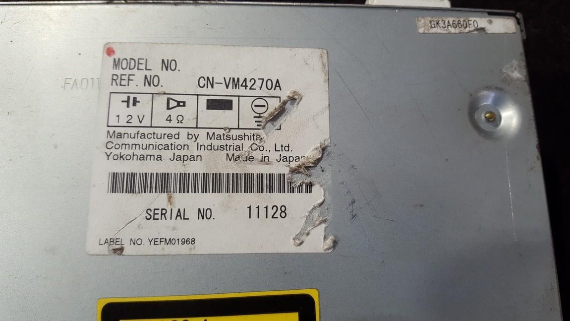 навигация CD-чейнджер Mazda 6 2002    0.0 CNVM4270A