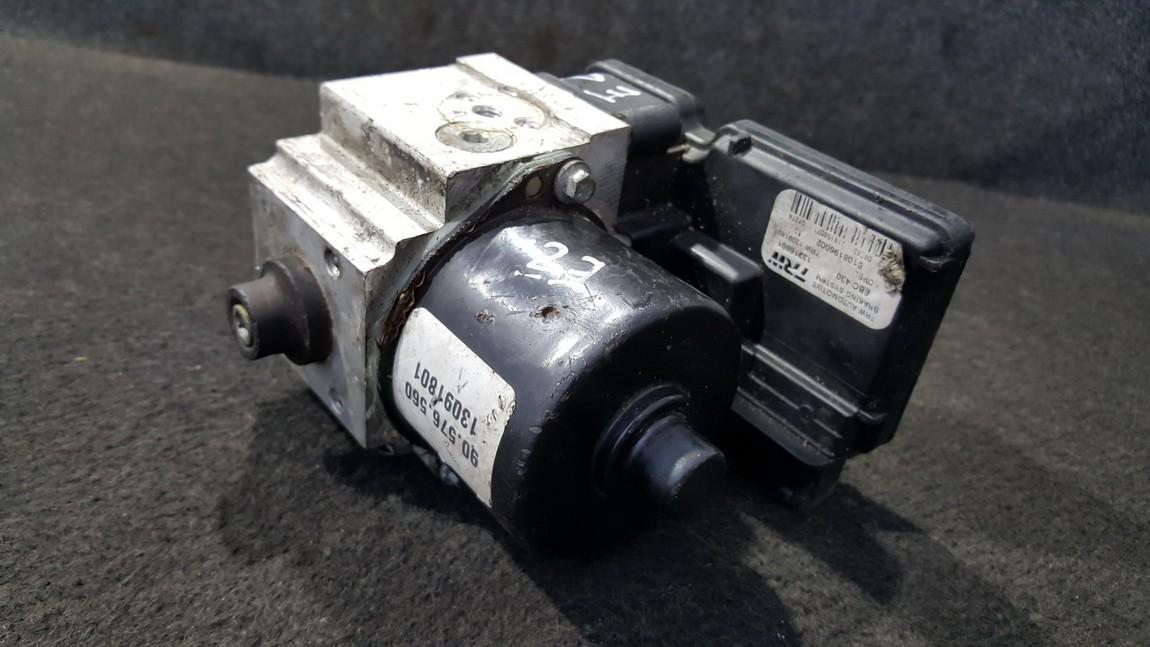 ABS blokas 13091801 13091801, S108196002, 13091801 Opel VECTRA 1998 2.0