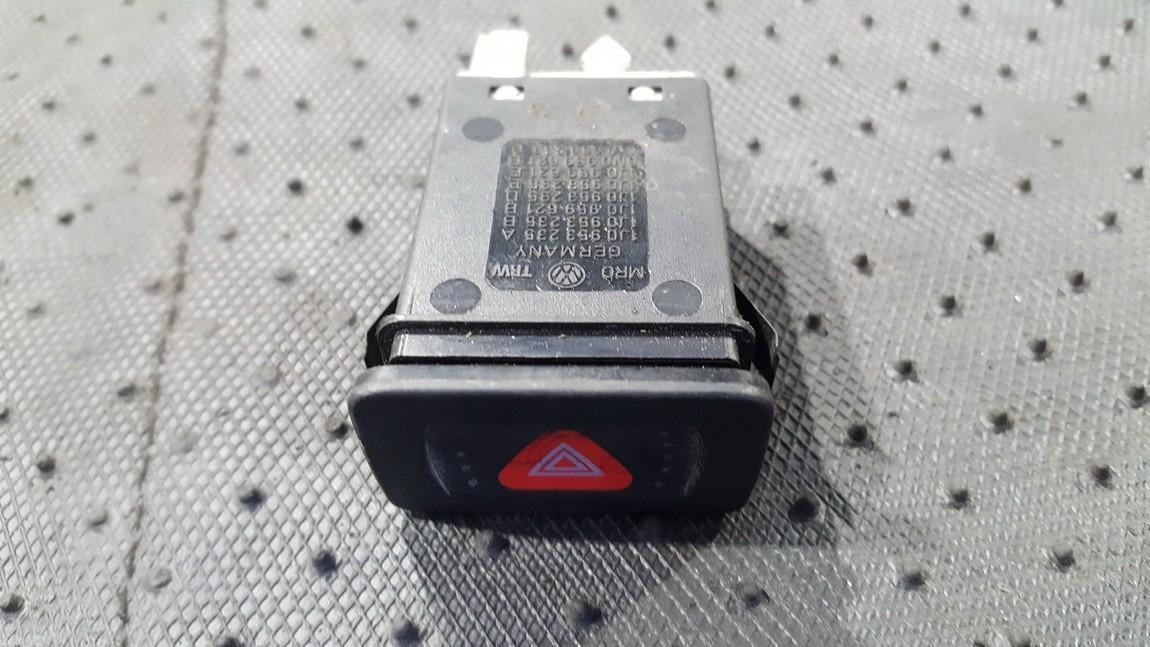 Hazard switch Volkswagen Bora 2000    0.0 1J0953235A