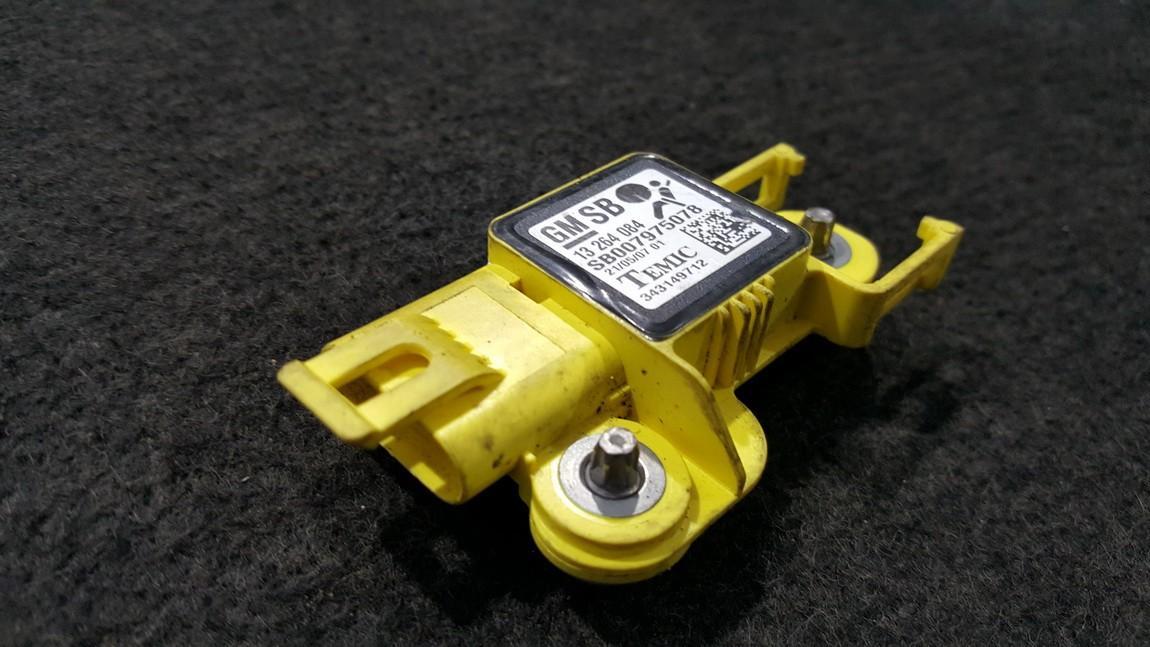 Srs Airbag crash sensor Opel Zafira 2006    0.0 13264084
