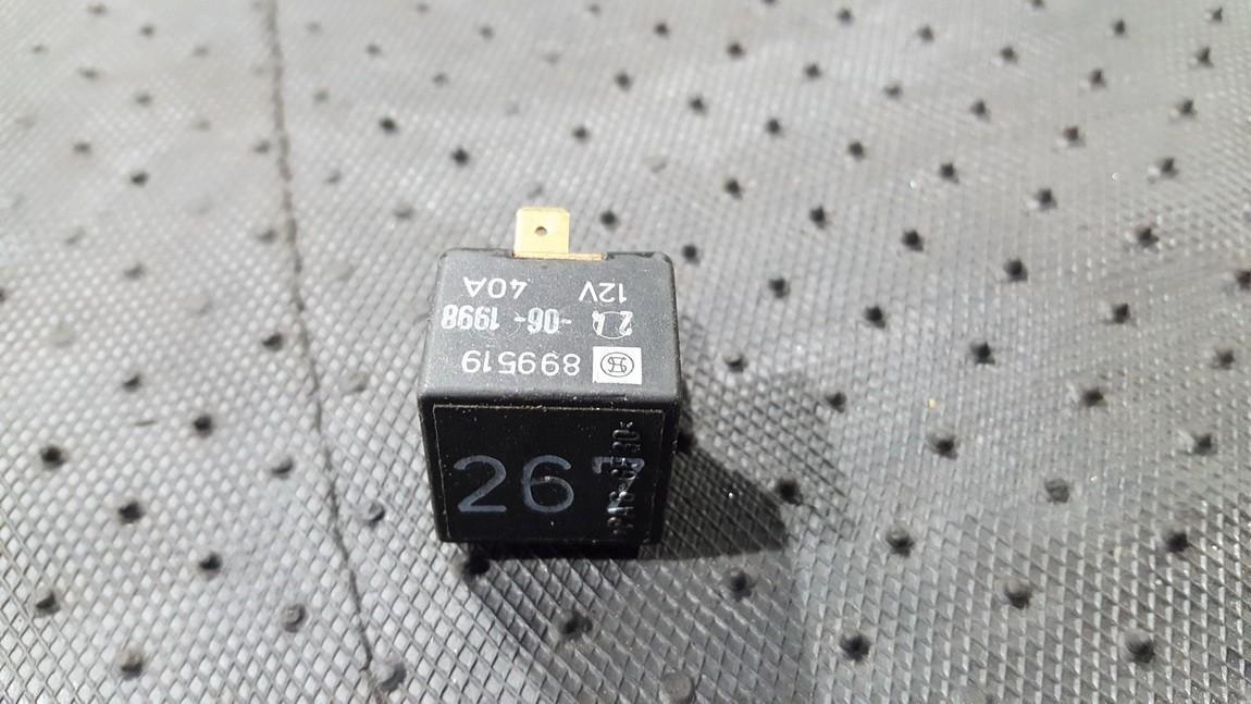 Audi  A4 Relay module