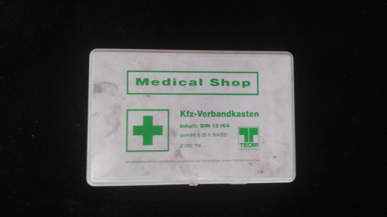 First Aid Kit Volkswagen Lupo 2002    1.4 z093114