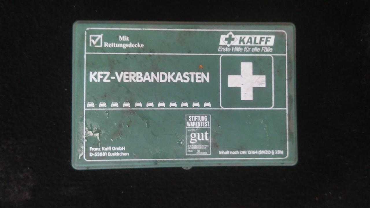 First Aid Kit Opel Vectra 2000    2.2 din13164