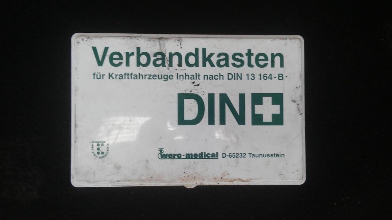 First Aid Kit Audi A3 1997    1.9 in13164b