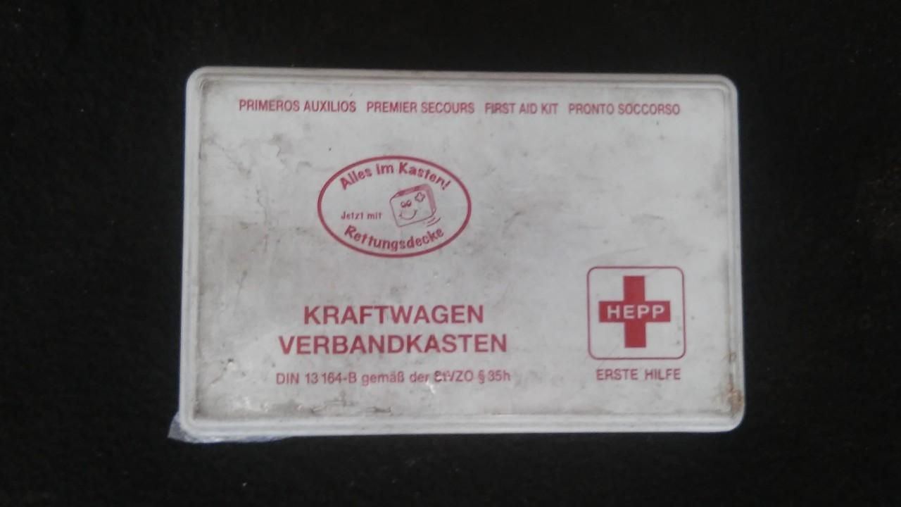 First Aid Kit Skoda Fabia 2001    1.9 din13164b