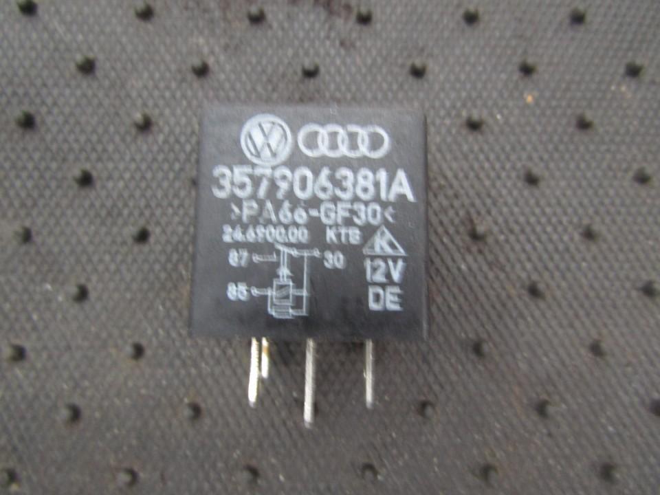 Rele 357906381a 24.6900.00 Volkswagen CADDY 1996 1.9