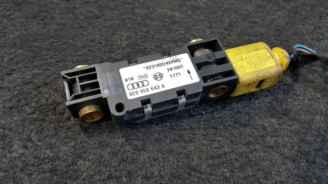 Srs Airbag daviklis 8E0959643A NENUSTATYTA Audi A6 2000 2.4