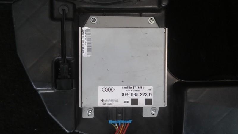 Audio amplifier Audi A4 2006    2.0 8e9035223d
