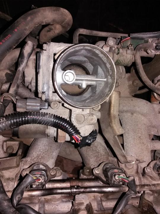 Used and working 'High Flow Throttle Body Valve (Air Control Valve