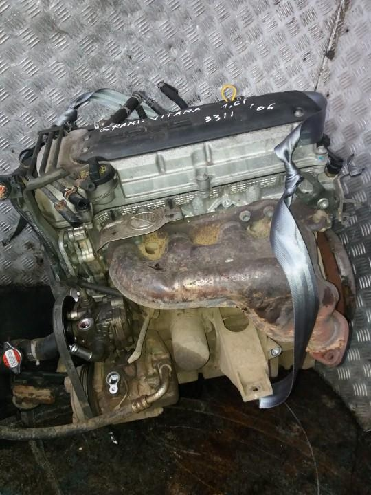 Variklis M16A     Suzuki GRAND VITARA 2006 1.6