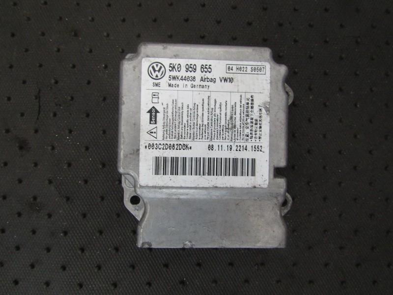 Блок управления AIR BAG  5K0959665 5WK44036, 04H022S0507 Volkswagen GOLF 2007 1.9