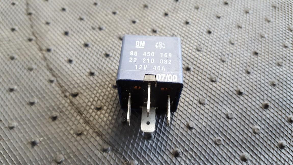 Relay module 90450169 22210032 Opel OMEGA 1994 2.0