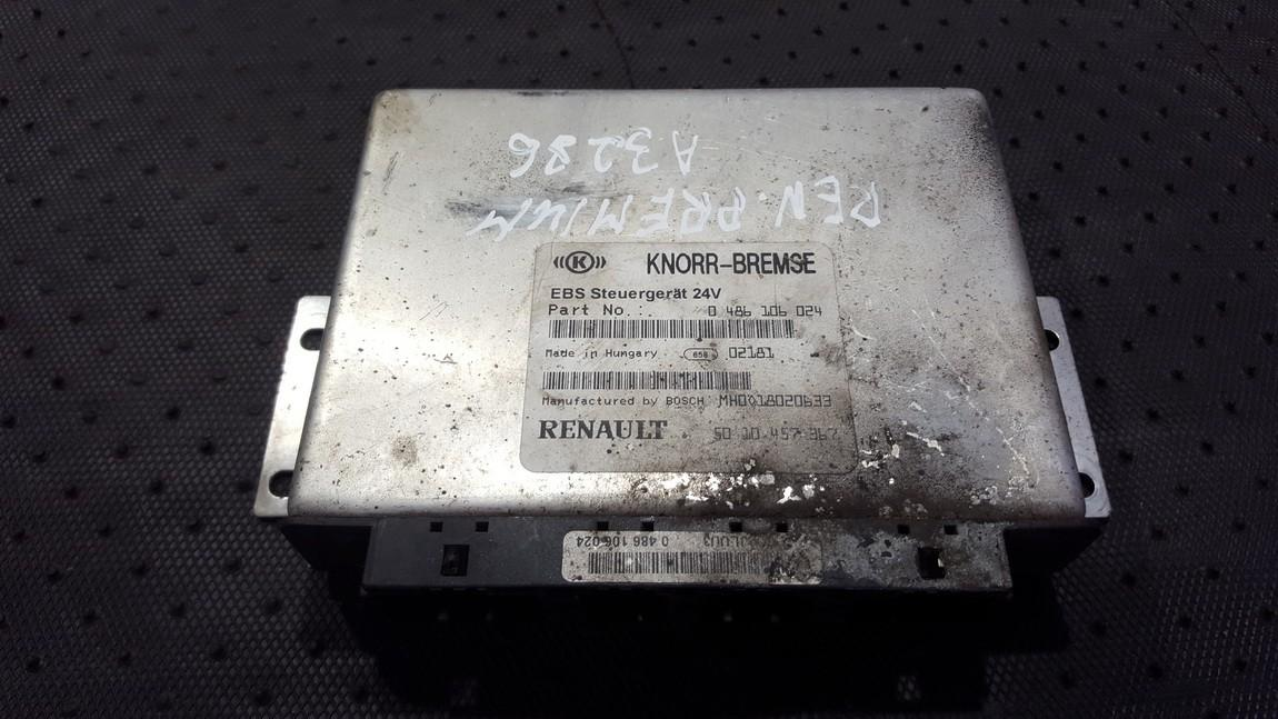 Блок управления АБС 0486106024 5010457367 Truck - Renault PREMIUM 2002 11.1