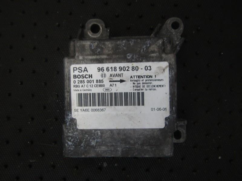Блок управления AIR BAG  966189028003 9661890280-03, 0285001885 Peugeot 207 2009 1.4
