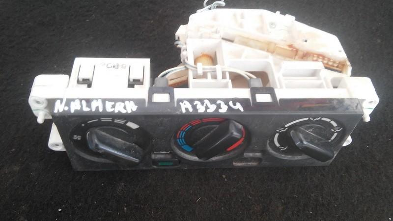 Climate Control Panel (heater control switches) Nissan  Almera, N15 1995.07 - 1998.06