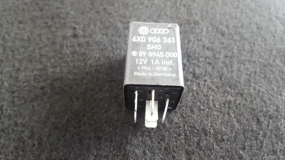 Relay module 6X0906361 898945000 Volkswagen GOLF 2007 1.9