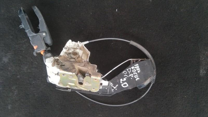 Door Lock Mechanism - front right side xs41a21812de n/a Ford FOCUS 2006 2.0