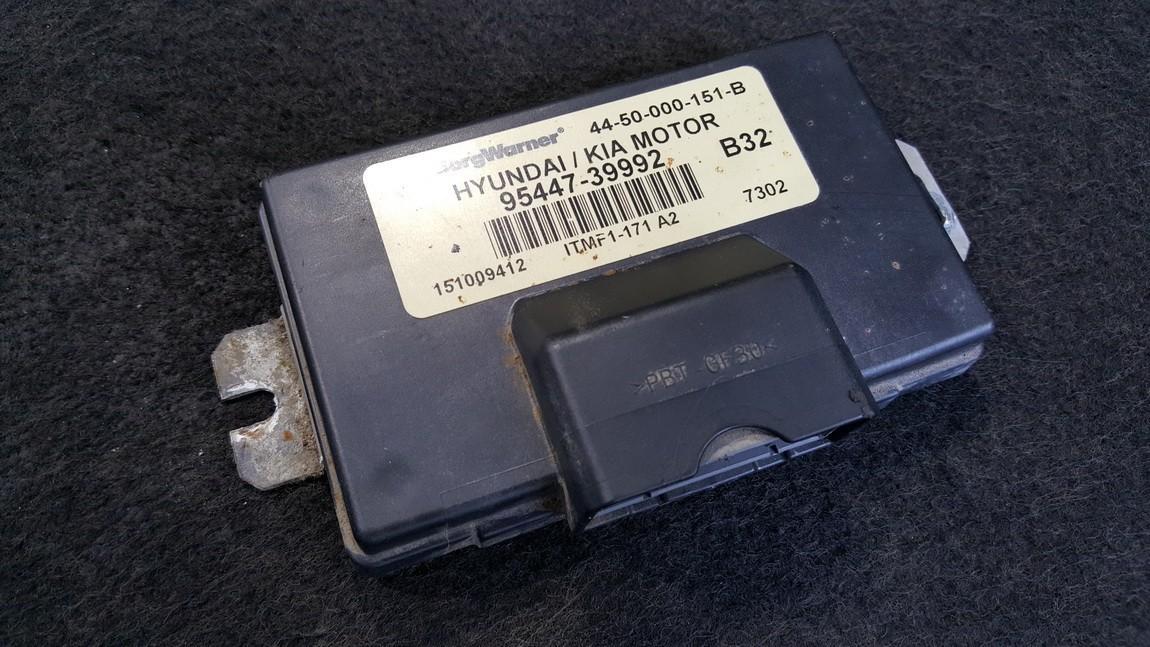 Transmission Computer  Hyundai Tucson 2007    2.7 9544739992
