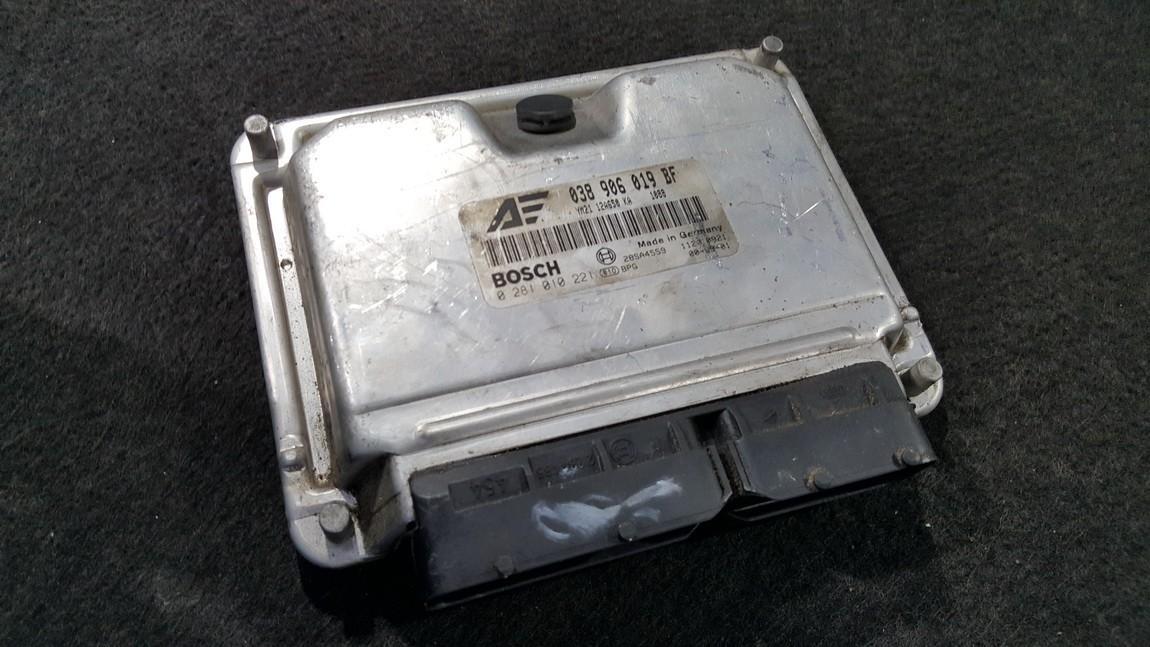 Блок управления двигателем 038906019BF 0281010221, 28SA4559 Ford GALAXY 1996 2.0
