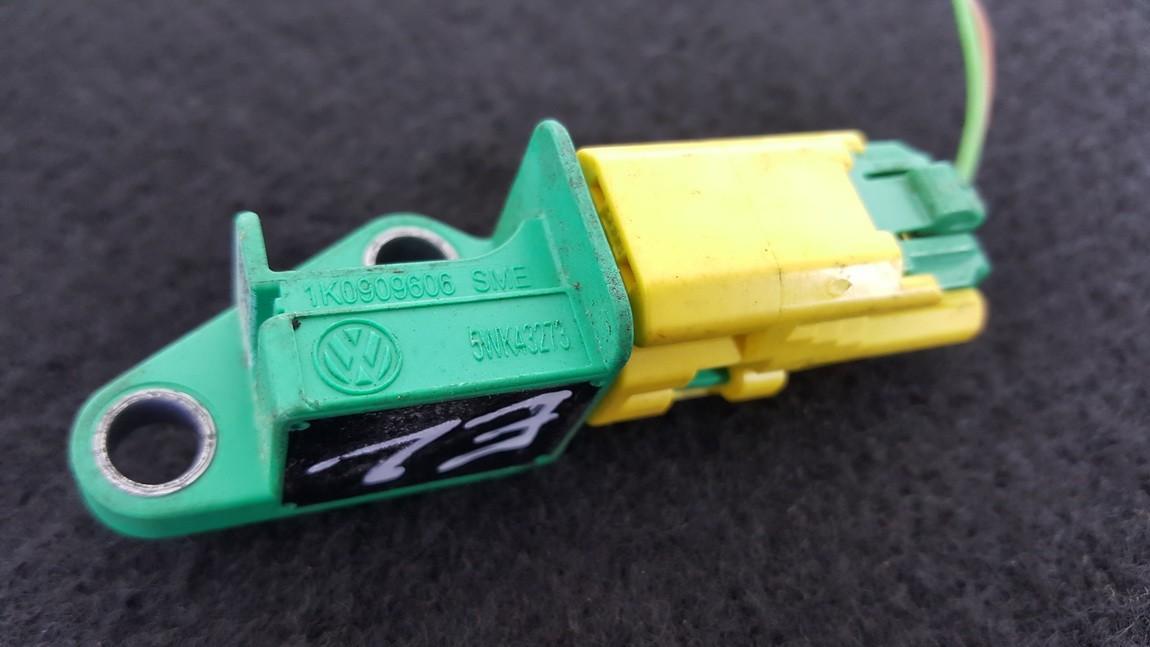 Srs Airbag crash sensor 1K0909606 5WK43273 Volkswagen GOLF 1994 1.6