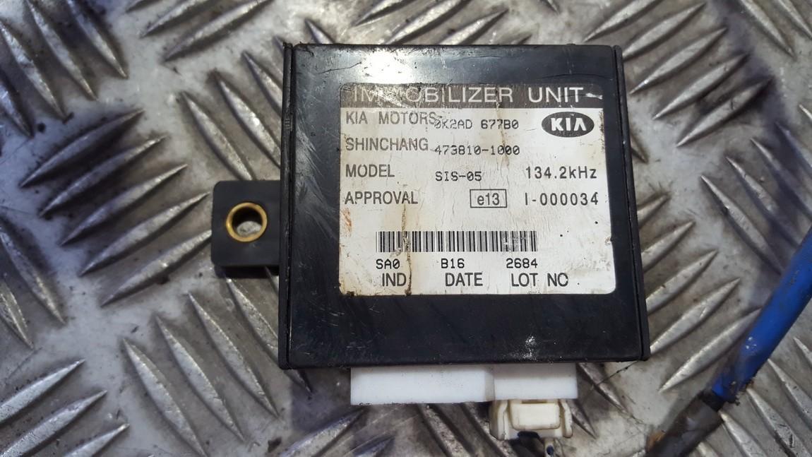 Immobiliser ECU Kia Carens 2003    0.0 4738101000