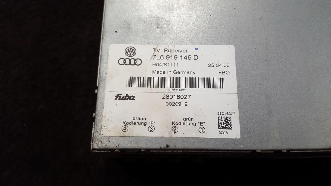 Audio amplifier Volkswagen Touareg 2005    0.0 7L6919146D