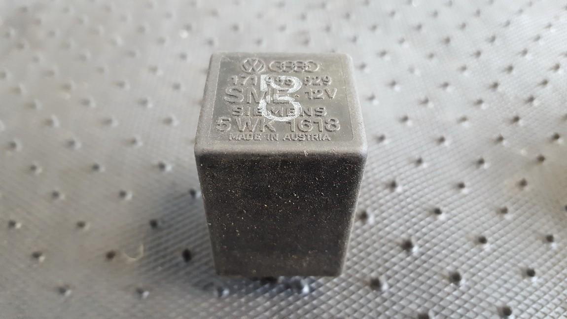 Rele 171955529 5WK1618 Volkswagen GOLF 2007 2.0