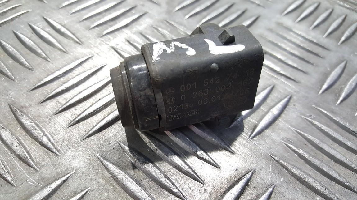 Front Parking Sensor, park assist 0015427418 0263003167 Mercedes-Benz ML-CLASS 2000 2.3