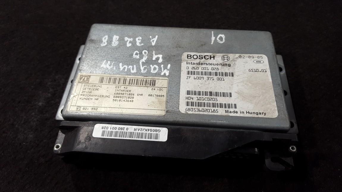 Transmission Computer  Truck - Renault Magnum 2001    12.0 0260001028