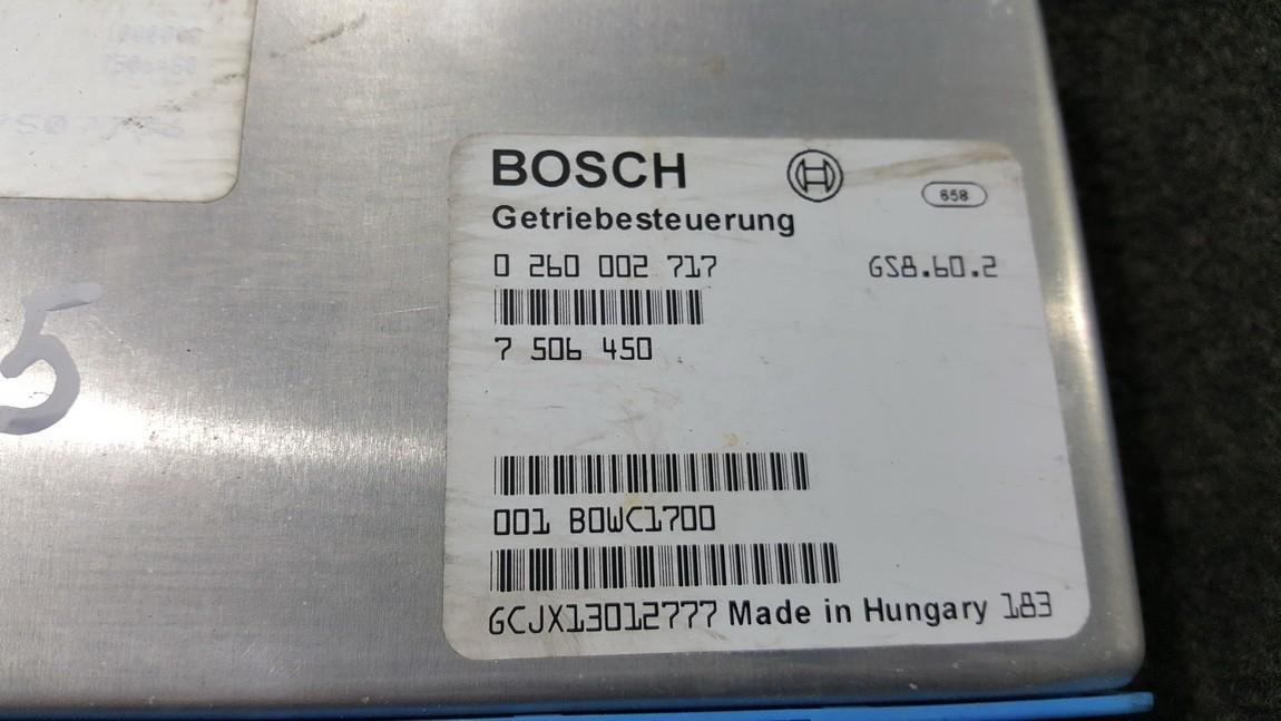 Transmission Computer  BMW X5 2003    4.4 0260002717