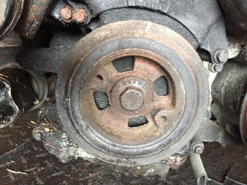 Crankshaft Belt Pulley 96MM6B321AD 96MM-6B321-AD Ford FIESTA 2009 1.3