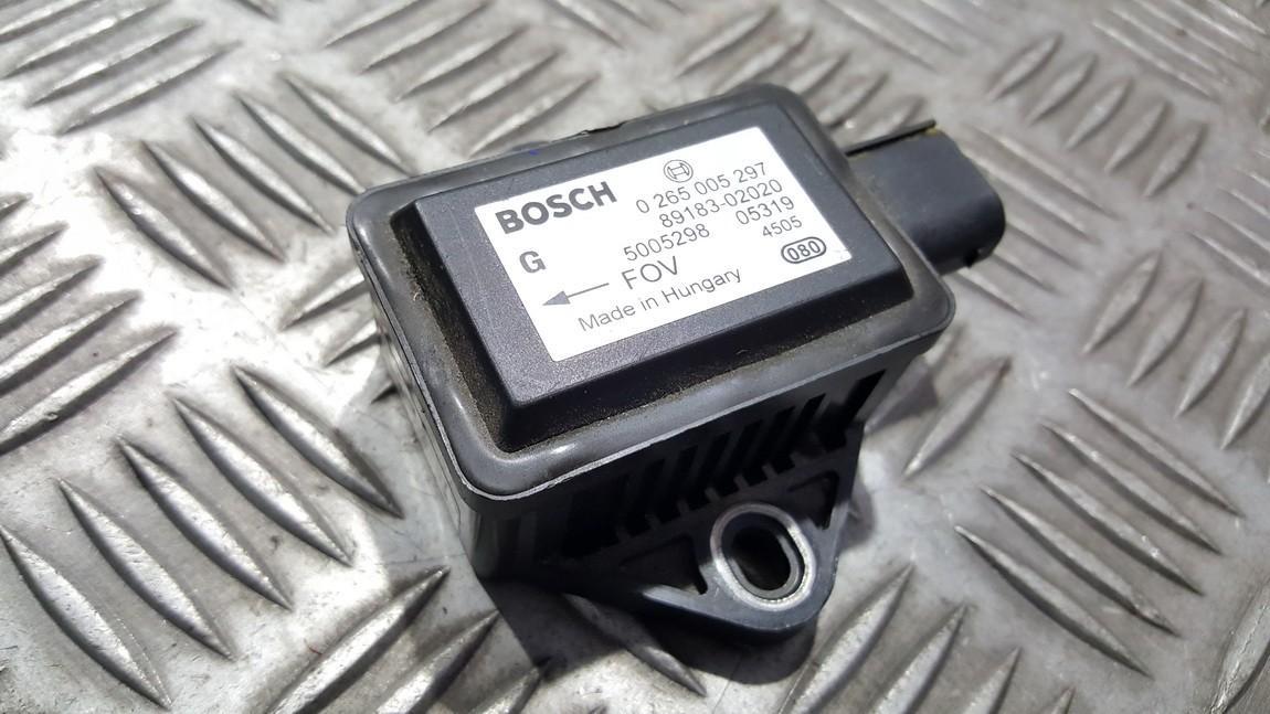 Датчик ускорения 0265005297 89183-02020, 8918302020 Toyota AVENSIS 2001 2.0