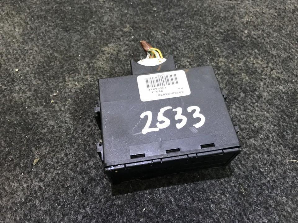 Imobilaizerio kompiuteris 8978005030 89780-05030, 73666212 Toyota AVENSIS 2001 2.0