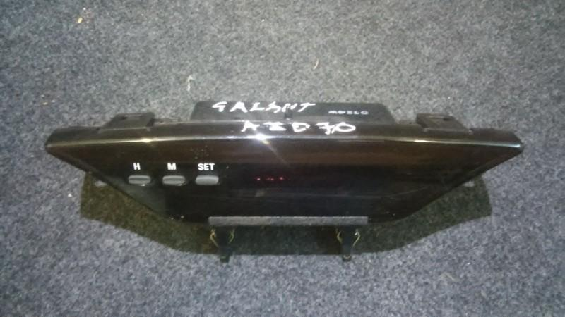 Dashboard Radio Display (Clock,Info Monitor,BORD COMPUTER) mr216461 0124 Mitsubishi GALANT 1999 2.0
