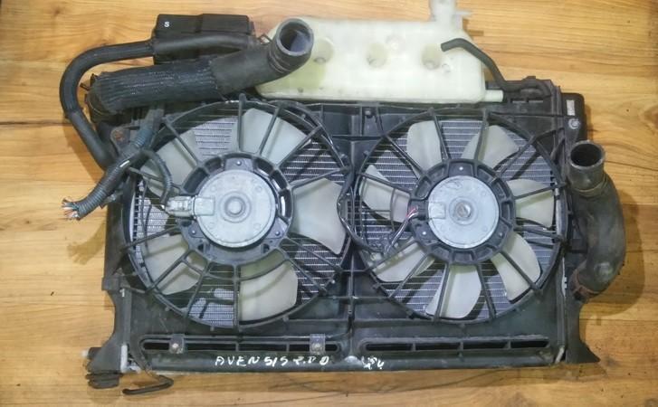 Difuzorius (radiatoriaus ventiliatoriaus) nenustatytas n/a Toyota AVENSIS 2005 2.2