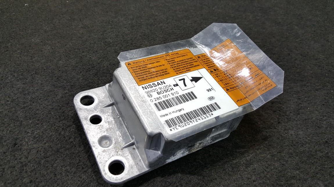 SRS Airbag kompiuteris Nissan  Note, 2006.03 - 2013.06