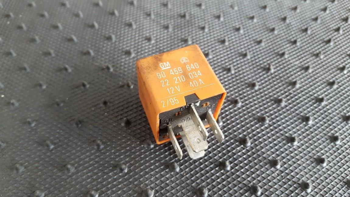 Rele 90459640 22210034 Opel OMEGA 1997 2.0