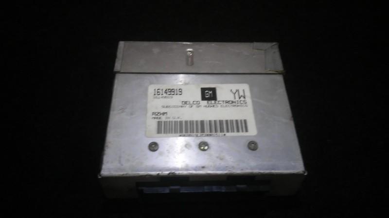 Variklio kompiuteris 16149919 869919l2c0001511 Opel ASTRA 1994 1.7