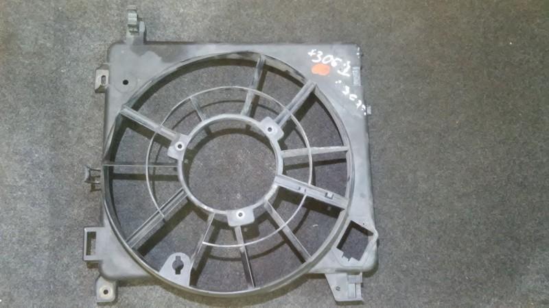 Difuzorius (radiatoriaus ventiliatorius) 24467442 0130303957 Opel ASTRA 2002 2.0