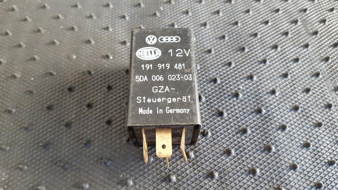 Rele 5DA00602303 191919481, 5DA006023-03 Volkswagen GOLF 2007 1.9
