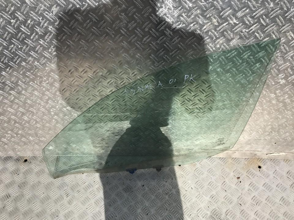Door-Drop Glass front left NENUSTATYTA N/A Nissan ALMERA 1996 2.0