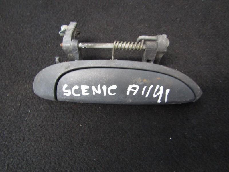 Door Handle Exterior, front right side 7700842848 nenustatyta Renault SCENIC 2000 1.6