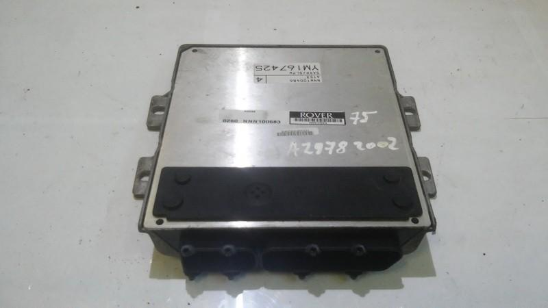 ECU Engine Computer  Rover 75 2002    1.8 0260nnn100683
