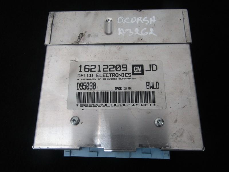 Variklio kompiuteris 16212209 d95030 Opel CORSA 1998 1.0