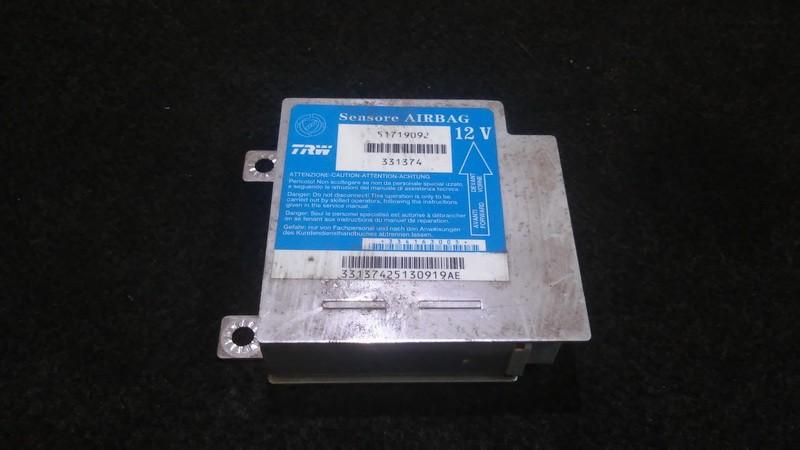 Airbag crash sensors module Fiat Punto 2003    1.2 51719092