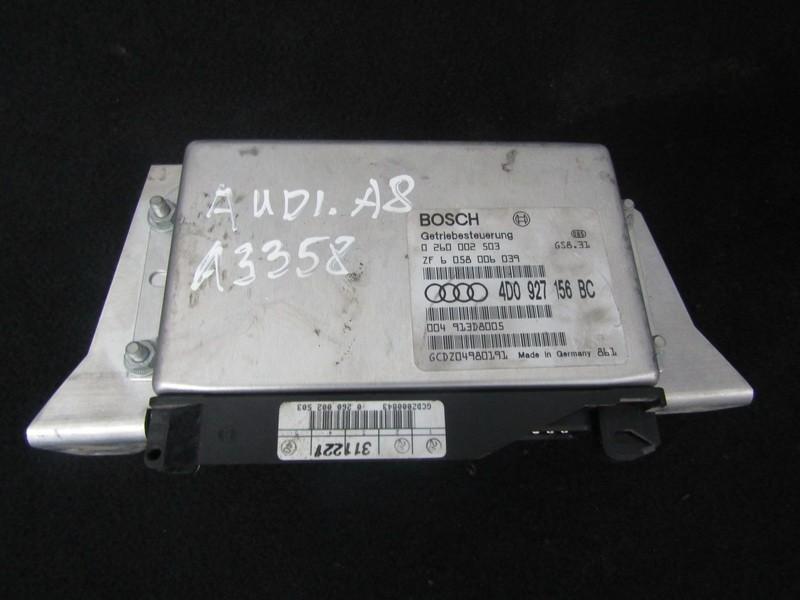 Transmission Computer  Audi A8 1998    3.7 4d0927156bc