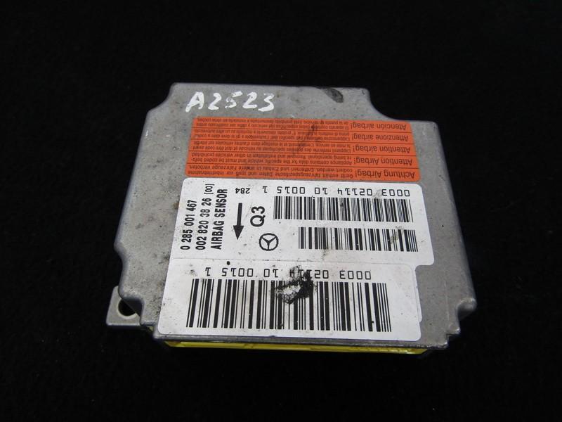 Airbag crash sensors module Mercedes-Benz S-CLASS 2002    3.2 0285001467