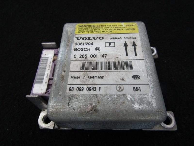 Airbag crash sensors module Volvo S40 1998    2.0 30611294